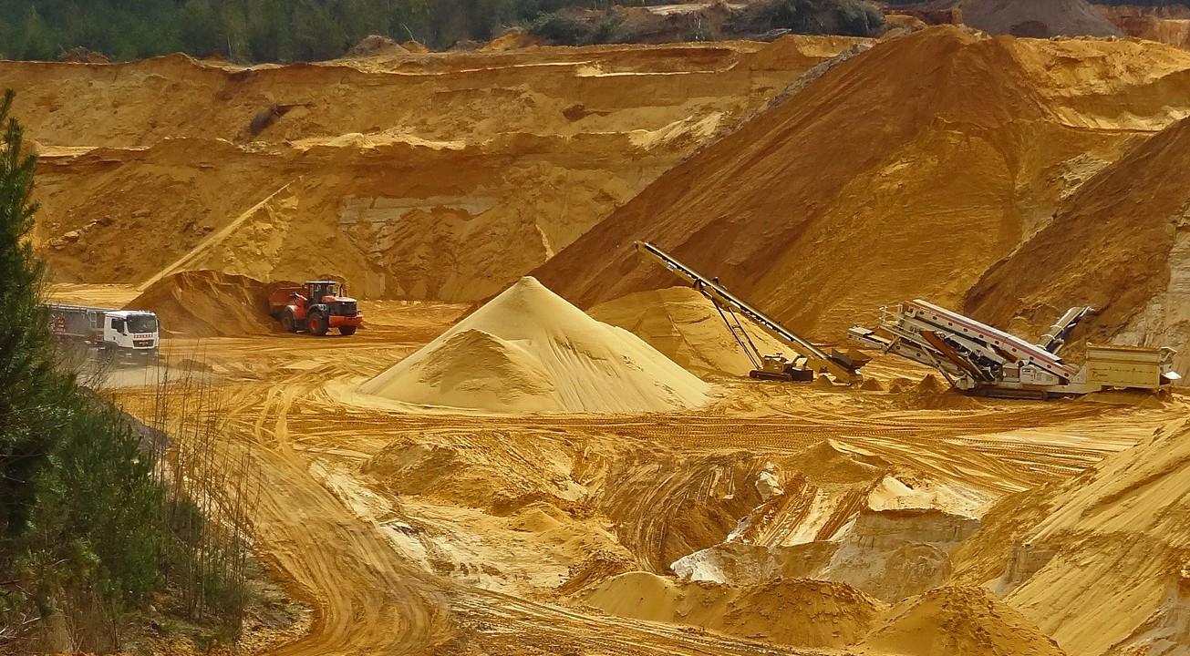 Staubvermeidung Kalksandsteinindustrie