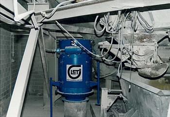 Brüdenfilter Kalksandsteinindustrie