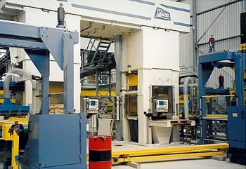 Filteranlage Kalksandsteinindustrie
