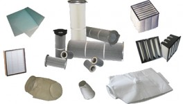 Glasfasermatte, Filterpatronen, Taschenfilter, Schwebstofffilter, Kompaktfilter, Filtersäcke, Sonderanfertigungen