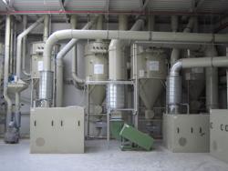 Filterzentrale Lebensmittelstaubabsaugung