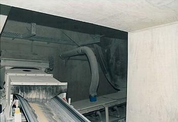 Förderband Kalksandsteinindustrie