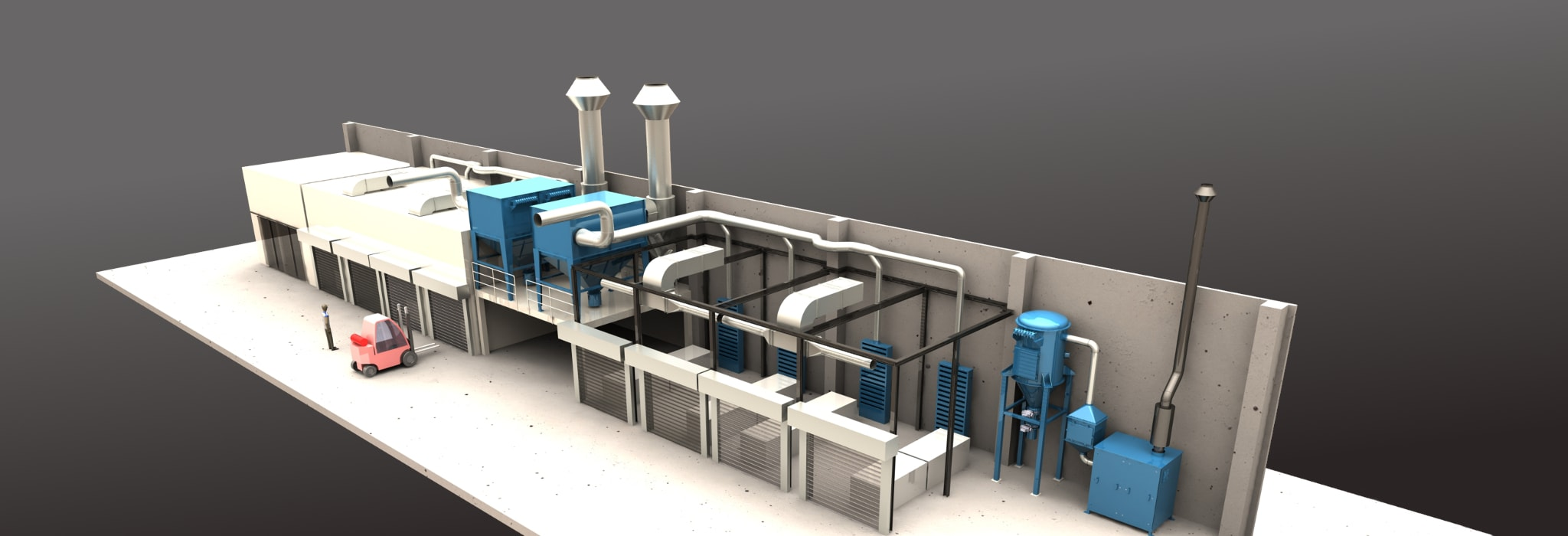 Entstaubungssysteme und Kabinentechnik der Marke LET®meschede