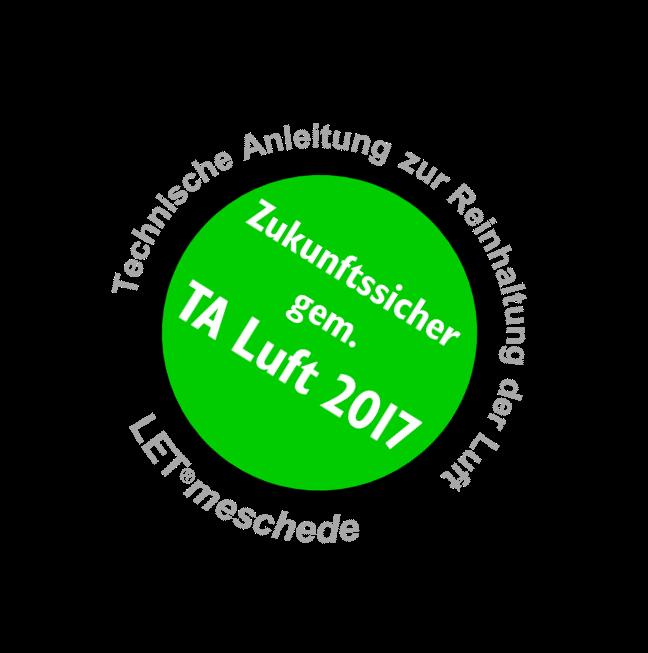 TA Luft 2017 Plakette