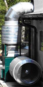 Zuluftventilator Belüftungsanlagen / Entlüftungsanlagen